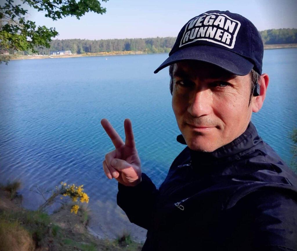 doubdle ambassador vegan runner tony kavse